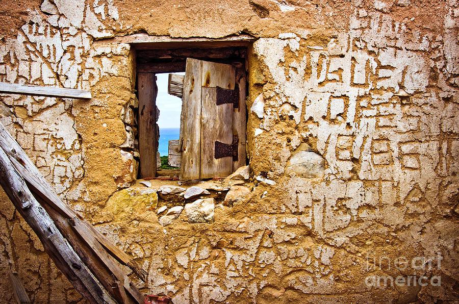Abandoned Photograph - Ruined Wall by Carlos Caetano