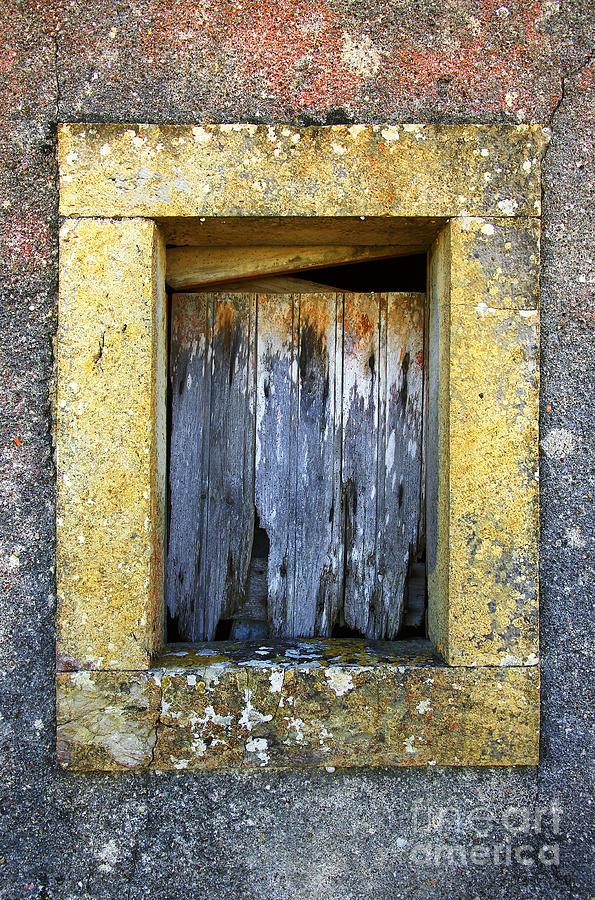 Abandoned Photograph - Ruined Window by Carlos Caetano