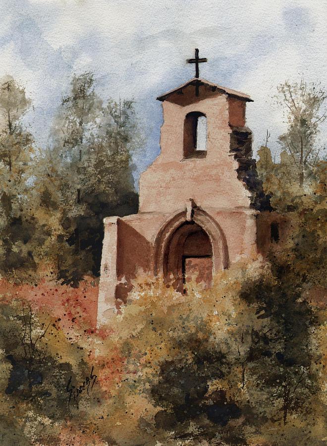 Ruin Painting - Ruins Of Morley Church by Sam Sidders