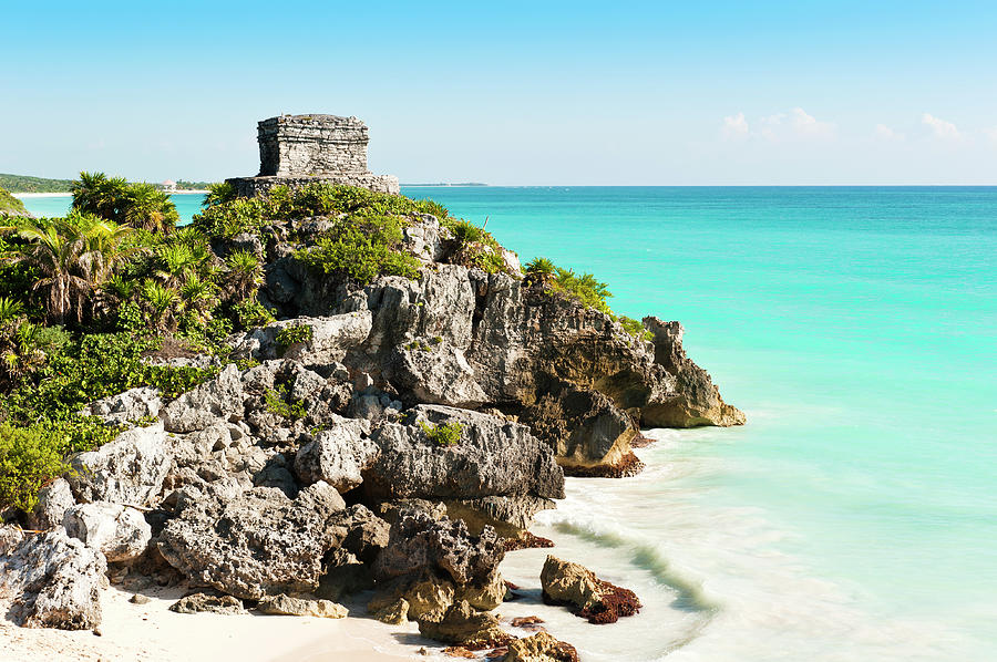 Ruins Of Tulum Photograph by Asmithers