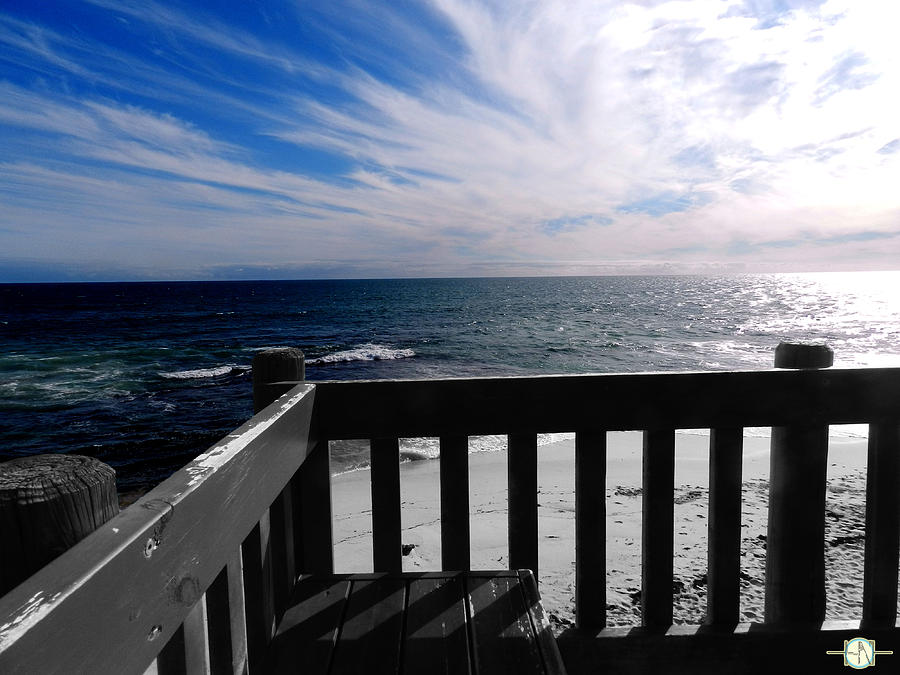 Beach Photograph - Ruminate by Henry Nguyen