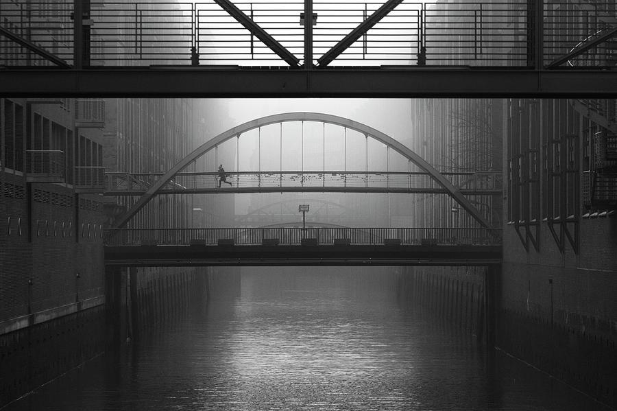 Fog Photograph - Run Away by Alexander Sch?nberg