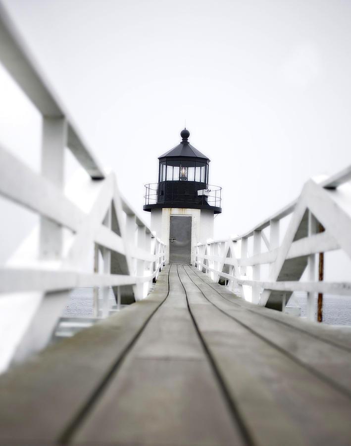 Lighthouse Photograph - Run Forrest Run by Don Powers