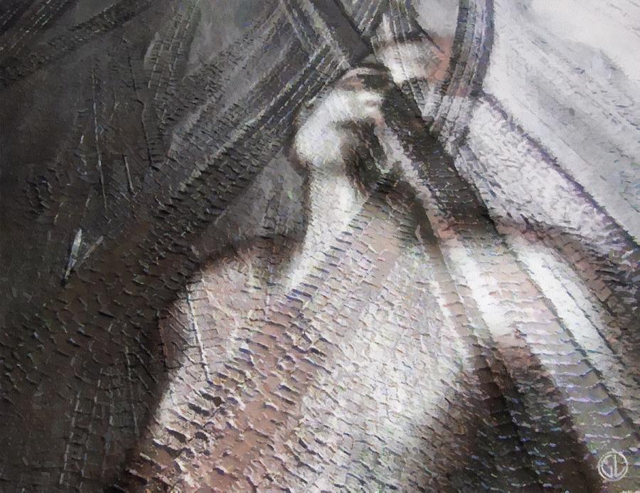 Woman Digital Art - Run Over by Gun Legler