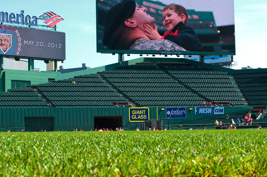 Fenway Park  - Run To Home Base 2012 by Paul Mangold