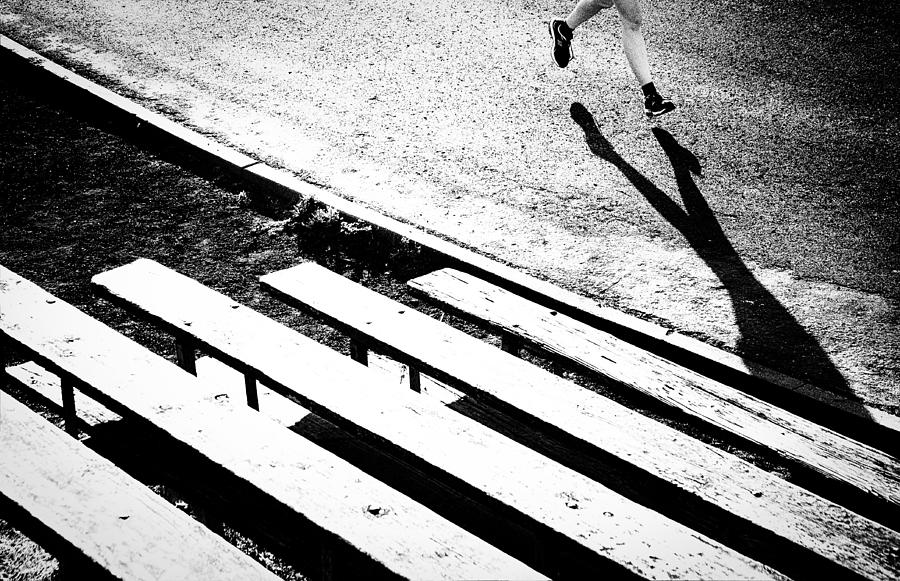 Runners Shadow Photograph