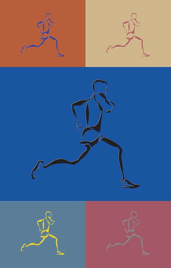 Runner Photograph - Running Runner2 by Joe Hamilton