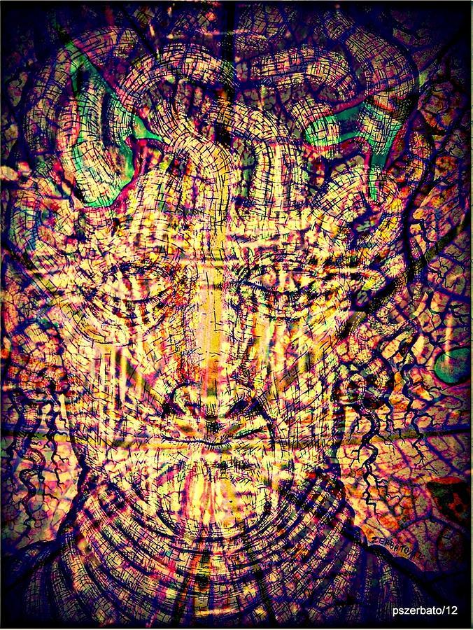 Beliefs Digital Art - Runs In The Veins The Old Blood Of The Ancestors by Paulo Zerbato