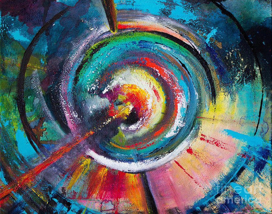 Celestial Painting - Ruptured Core by Robin Kirkpatrick