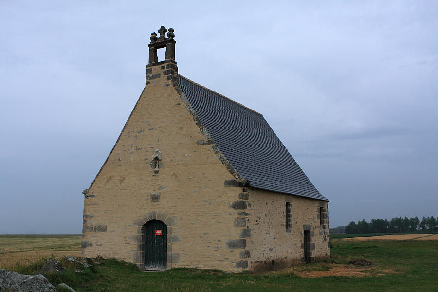 Church Photograph - Rural Church In Brittany by Aidan Moran
