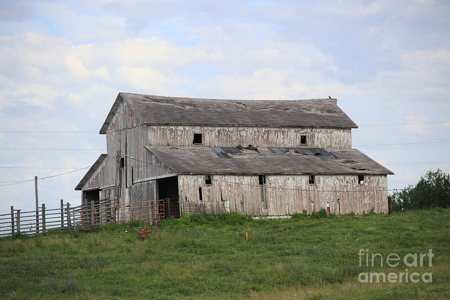 Barn Photograph - Rural Moravia by Anthony Cornett