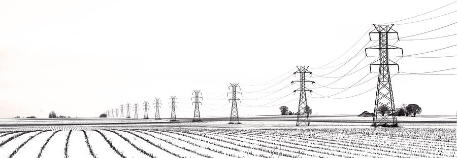 Power Photograph - Rural Power by Steve Gadomski