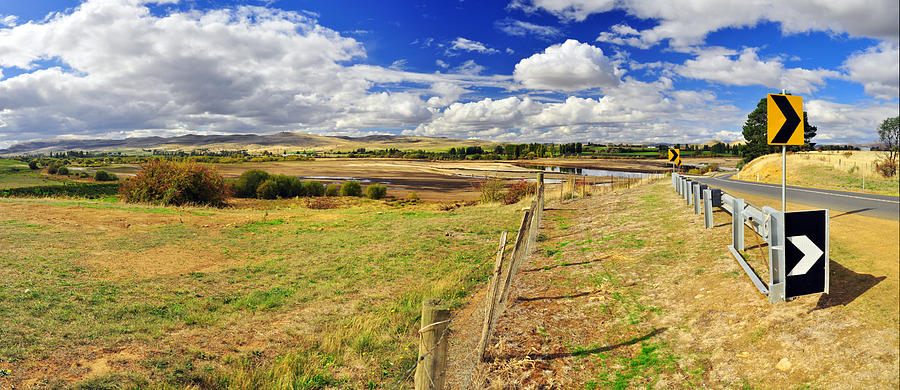 Landscape Photograph - Rural Tasmania #2 by Terry Everson