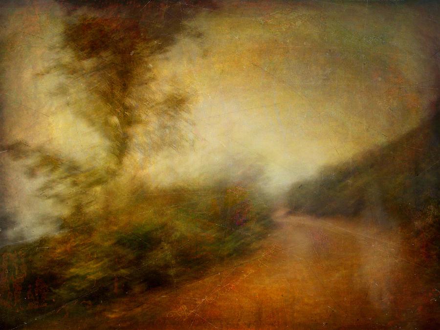 Digital Photograph - Ruralscape #11 - Rain And Dust by Alfredo Gonzalez