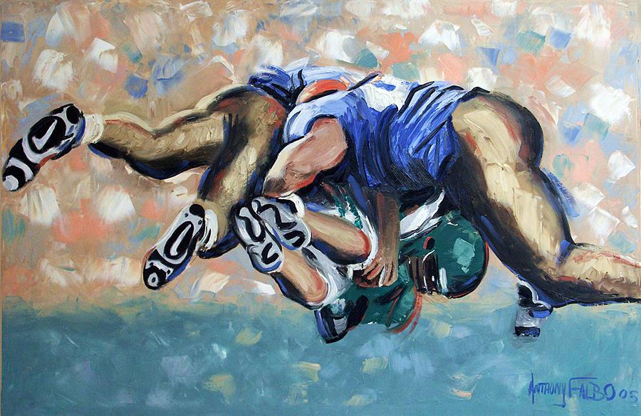 Rush Painting - Rush by Anthony Falbo