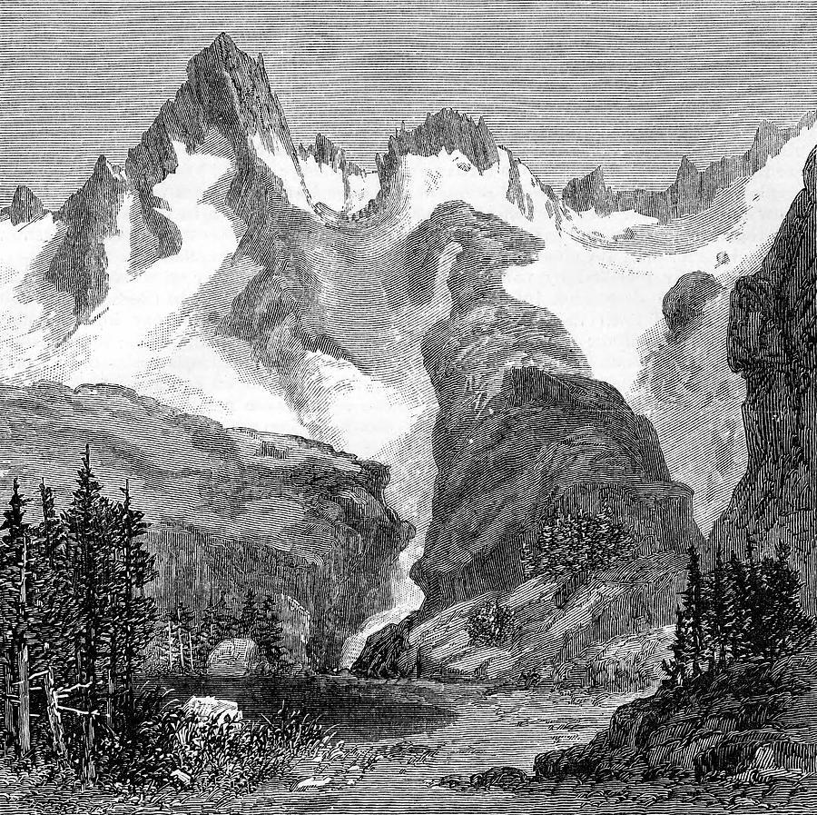 Rush Photograph - Rush Creek Glacier by Universal History Archive/uig