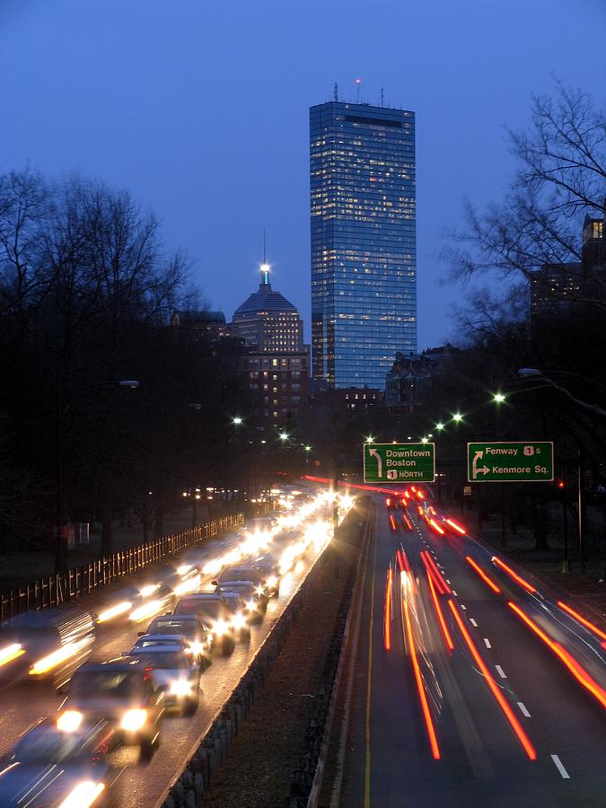Storrow Drive Photograph - Rush Hour by Juergen Roth