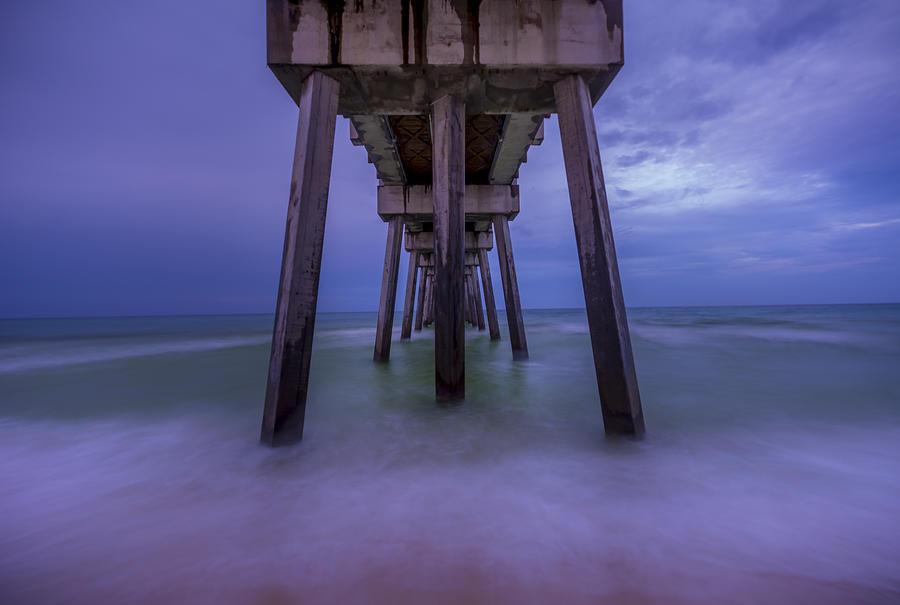 Russell Fields Pier Photograph