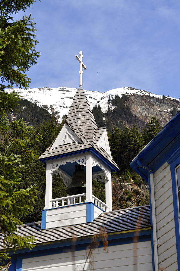 Bell Photograph - Russian Orthodox Church Bell Tower by Cathy Mahnke