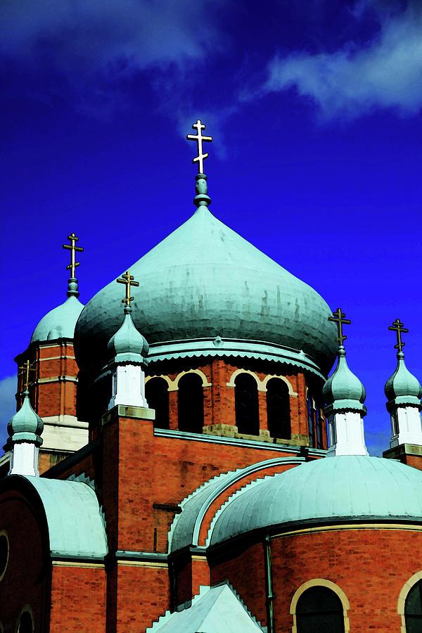 Church Photograph - Russian Orthodox Church by Karol Livote