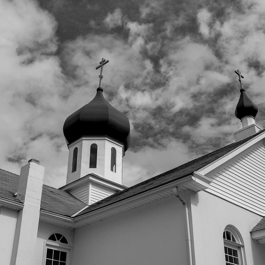 Russian Orthodox Church Photograph - Russian Orthodox Church by Ron White