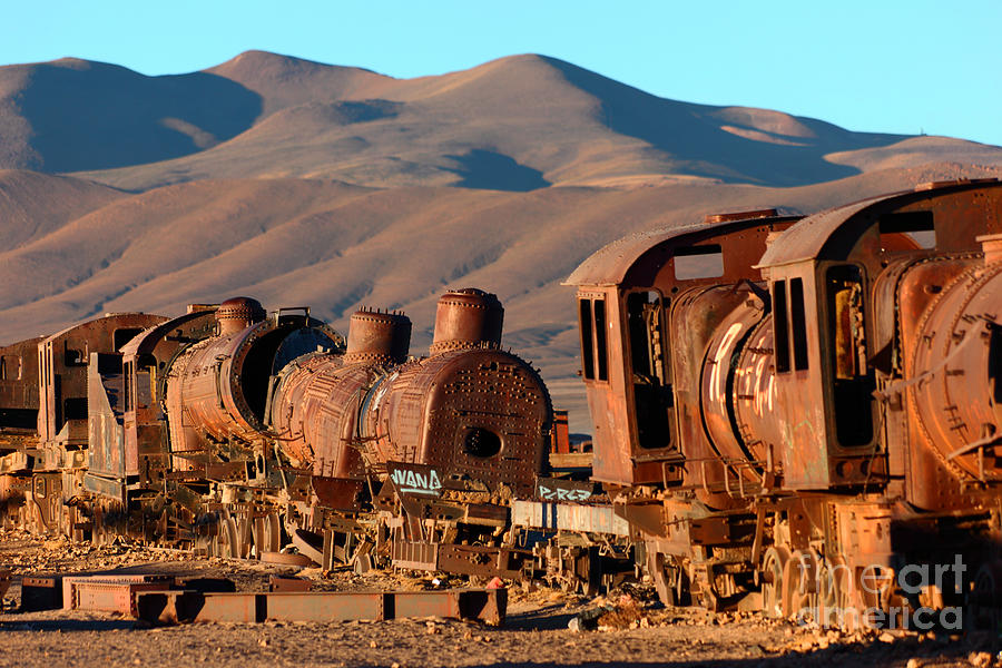 Bolivia Photograph - Rust In Peace by James Brunker