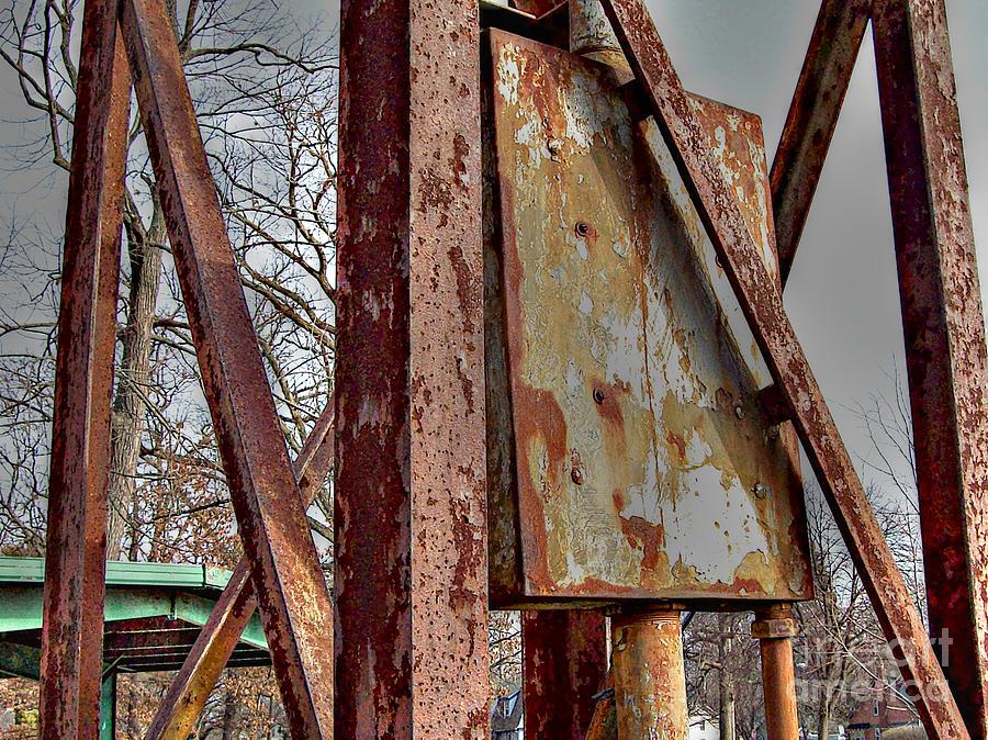 Mj Olsen Photograph - Rust by MJ Olsen