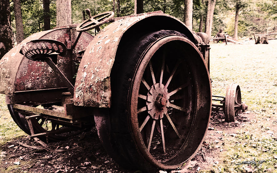 Rusted Big Wheels by Michael Spano