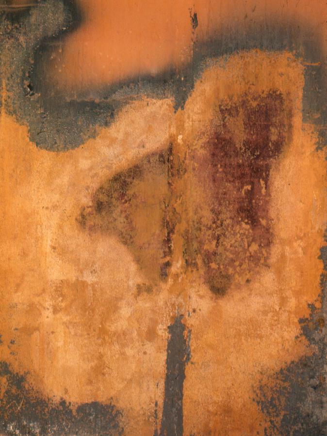 Rusted Metal Abstract Photograph by Ben Kotyuk