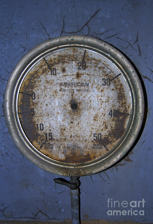 Rusted Pressure Photograph