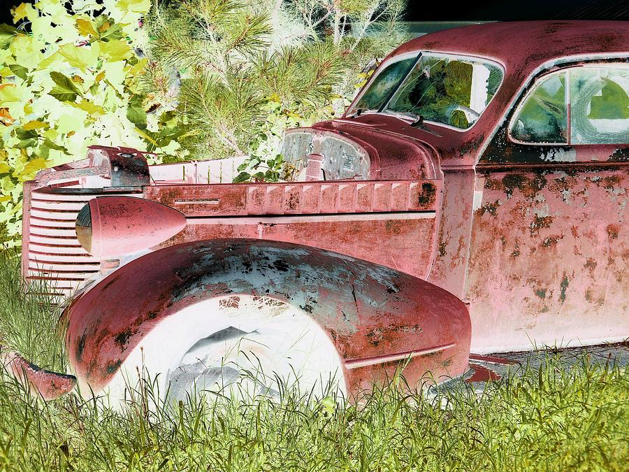 Rust Photograph - Rusted Truck 4 by Dietrich ralph  Katz