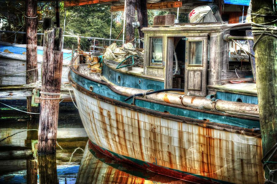 Alabama Digital Art - Rusted Wood by Michael Thomas