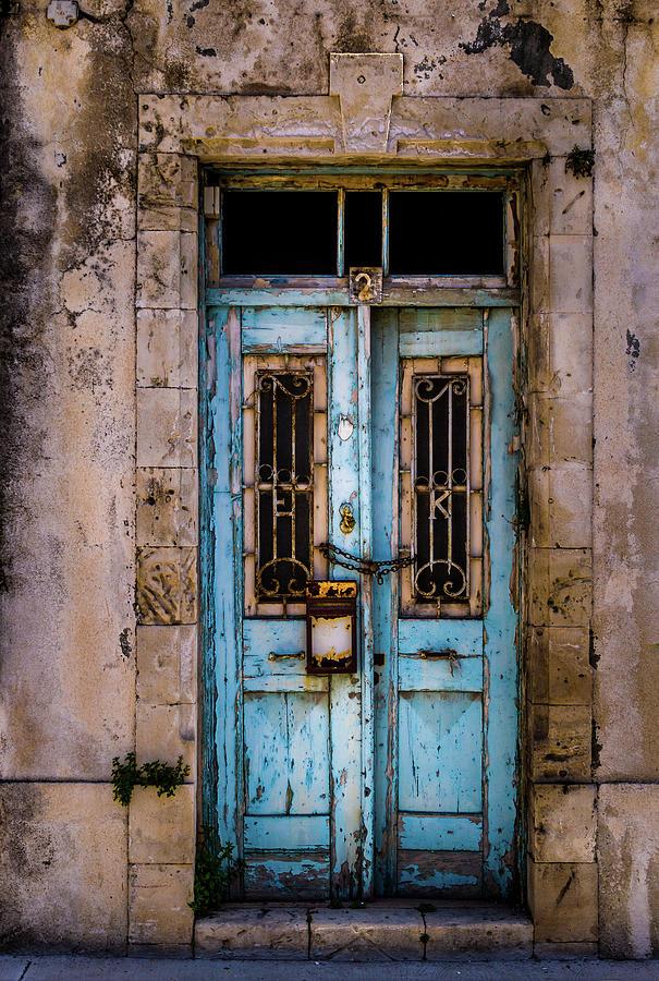 Rustic Abandoned Door Photograph by Robertino1989