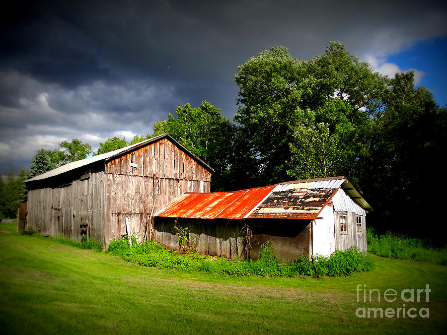 Barn Photograph - Rustic Beauty by Crystal Joy Photography