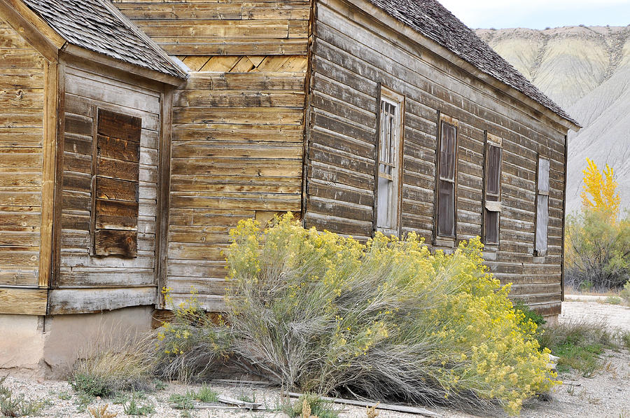 Canvas Prints Photograph - Rustic Building by Wendy Elliott