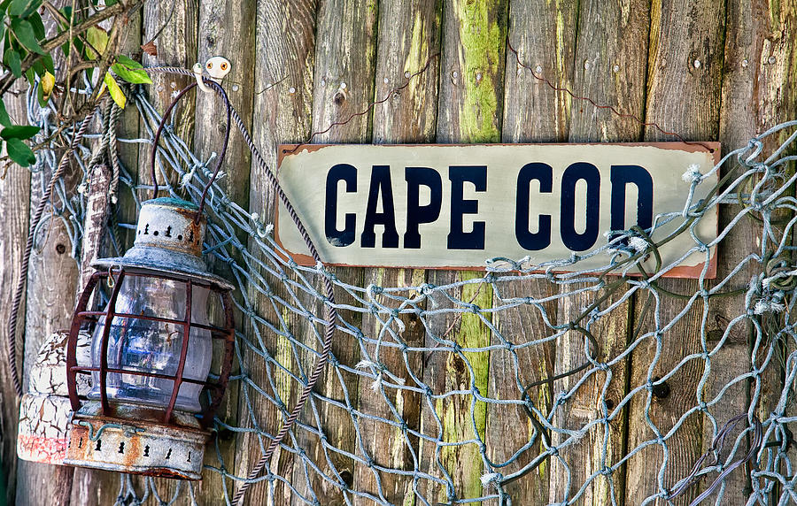 Bouy Photograph - Rustic Cape Cod by Bill Wakeley