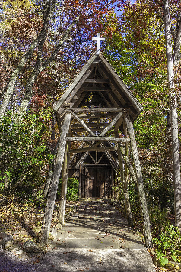 Rustic Entry to the Sanctuary by Karen Stephenson