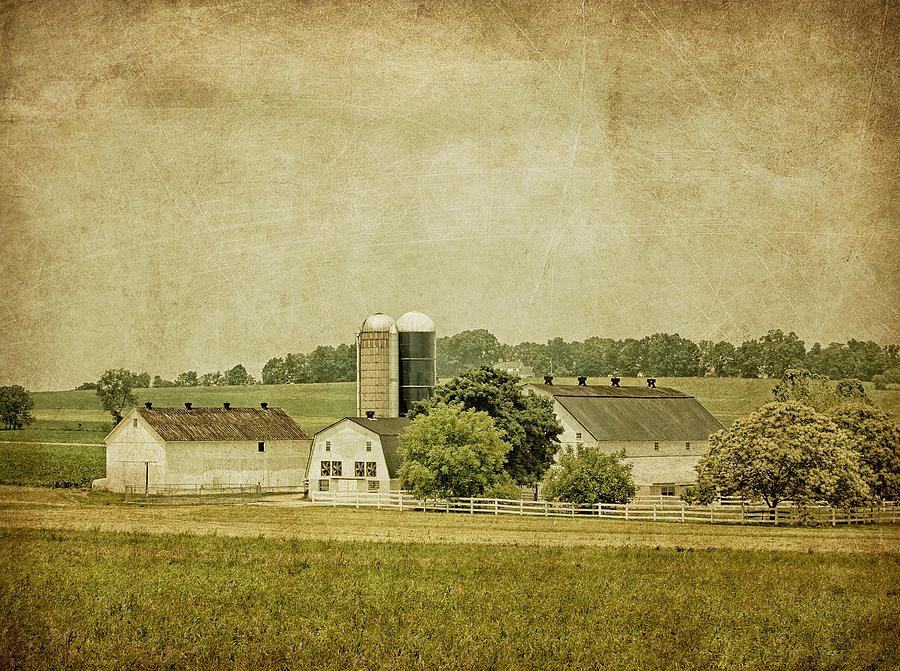 Barn Photograph - Rustic Farm - Barn by Kim Hojnacki
