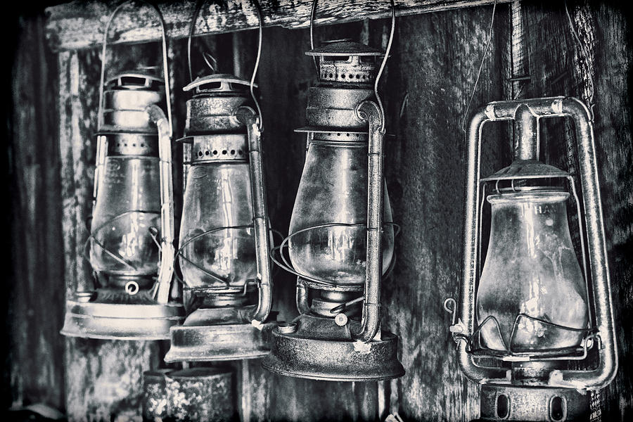 Rustic Photograph - Rustic Lanterns by Kelley King