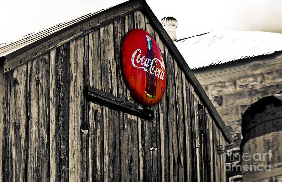 Coke Photograph - Rustic by Scott Pellegrin