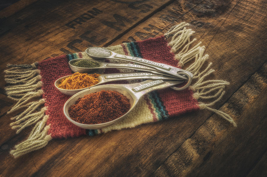 Rustic Spices Photograph