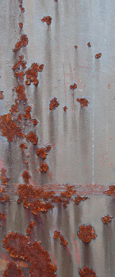 Rust Photograph - Rusty Abstract by Jani Freimann