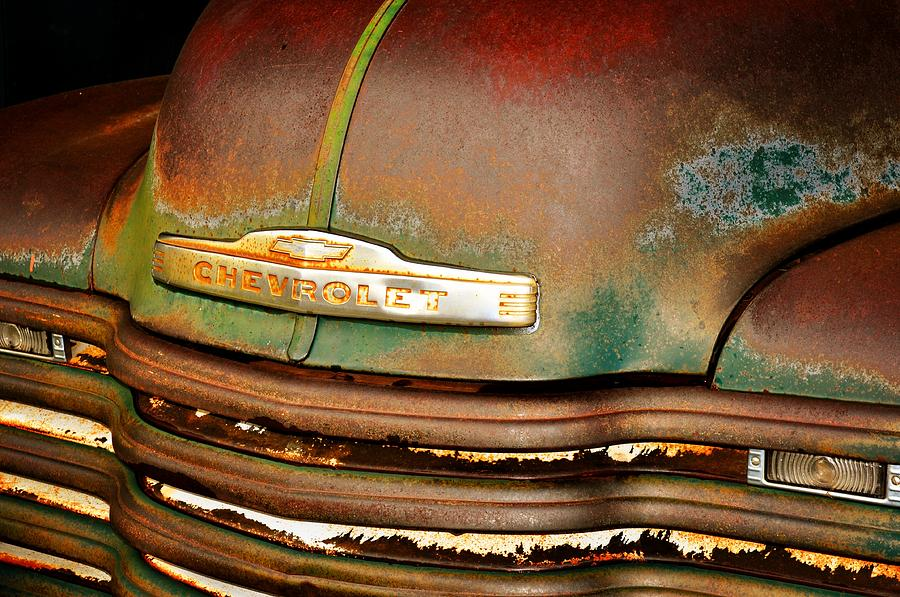 Antique Cars Photograph - Rusty Gold by Marty Koch