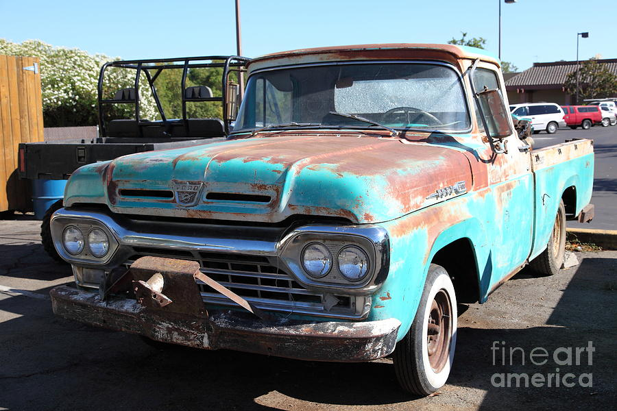 Rusty Old Ford Jalopy 5d24644 Photograph by Wingsdomain Art and ...