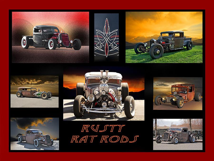 Rusty Rat Rods I Photograph