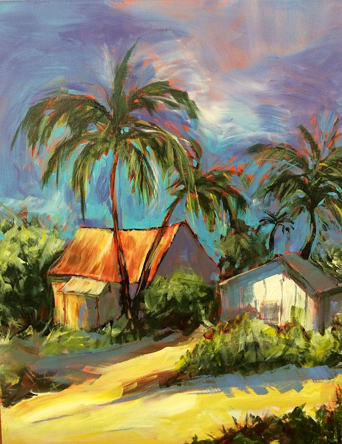 Rusty Roof in Paradise by Gloria Avner