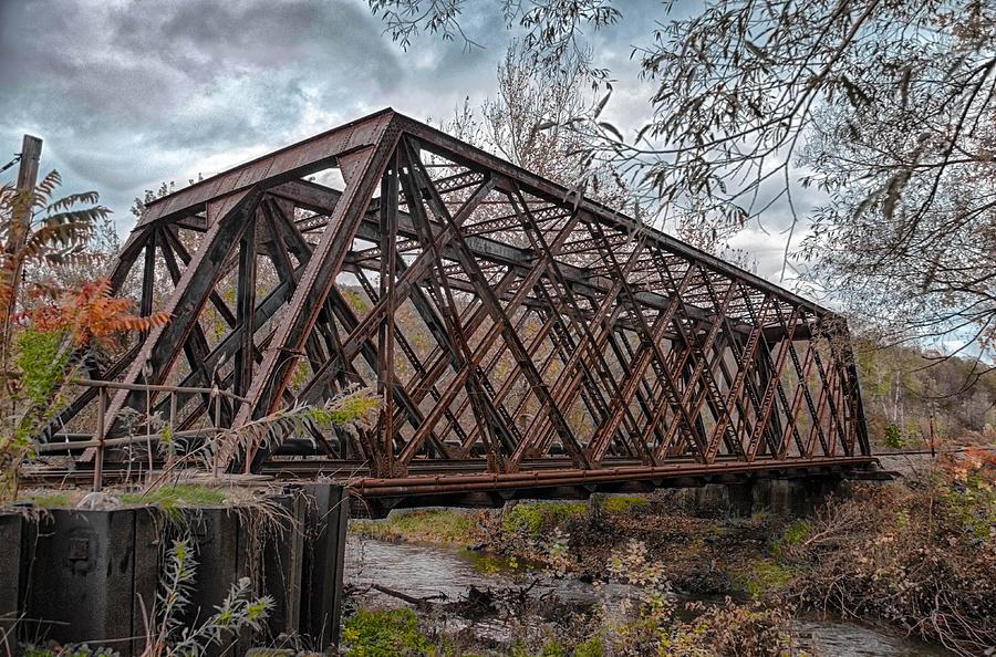 Bridges Photograph - Rusty Sal  7d07856h by Guy Whiteley