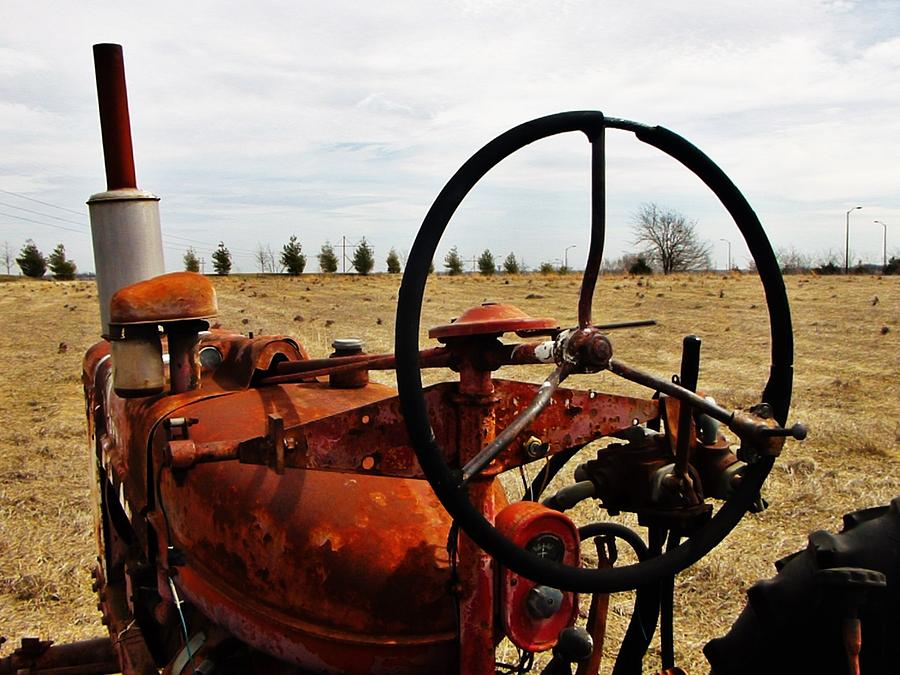 Rusty Tractor Days Photograph by Rob Hallifax
