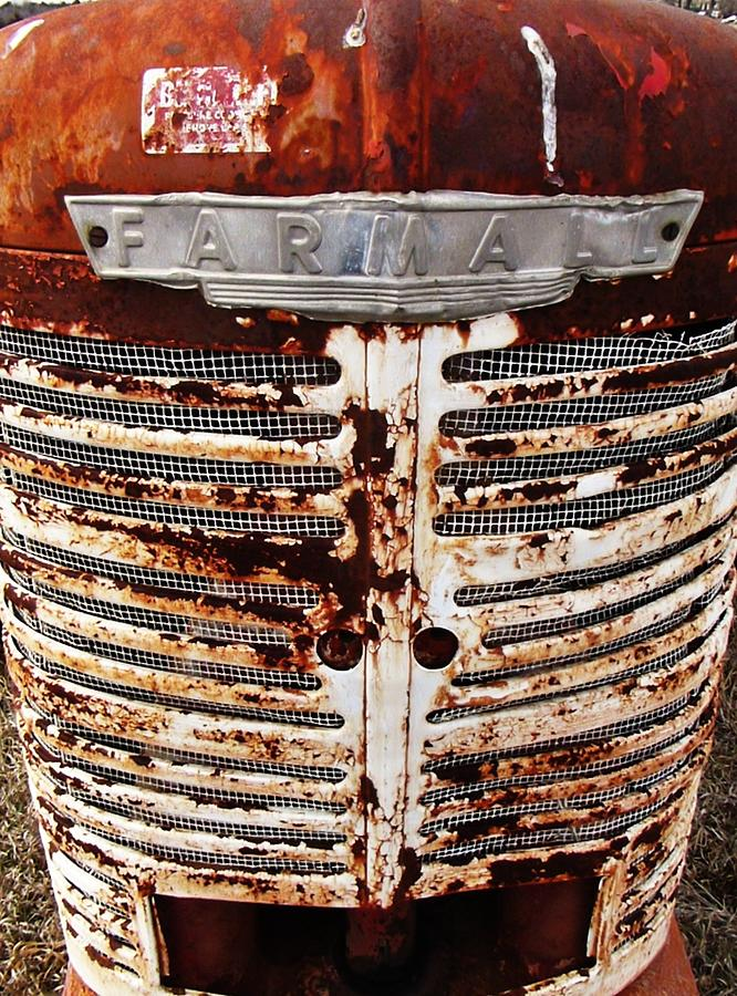 Rusty Tractor Farmall Photograph by Rob Hallifax