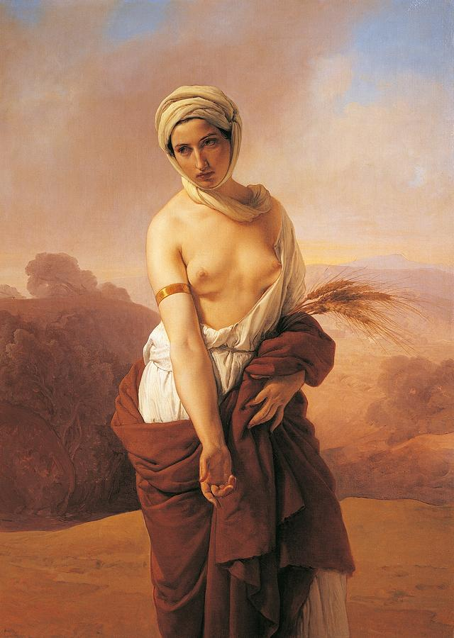 Painting Painting - Ruth by Francesco Hayez